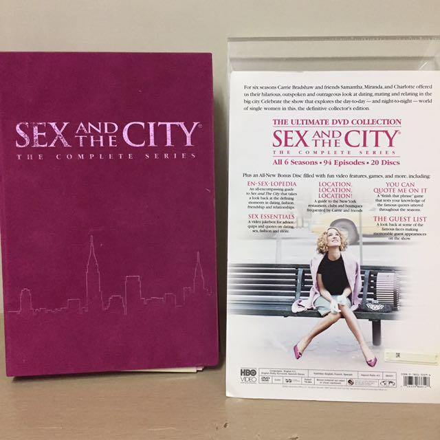 Sex and the City DVD All 6 Seasons on Carousell