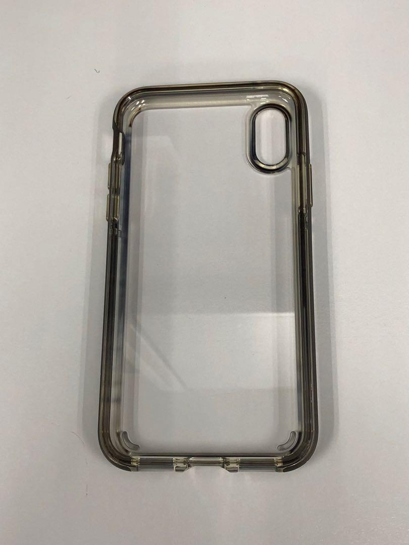 sports shoes 301d8 ac482 Spigen iPhone X Case Neo Hybrid Crystal (Gunmetal)
