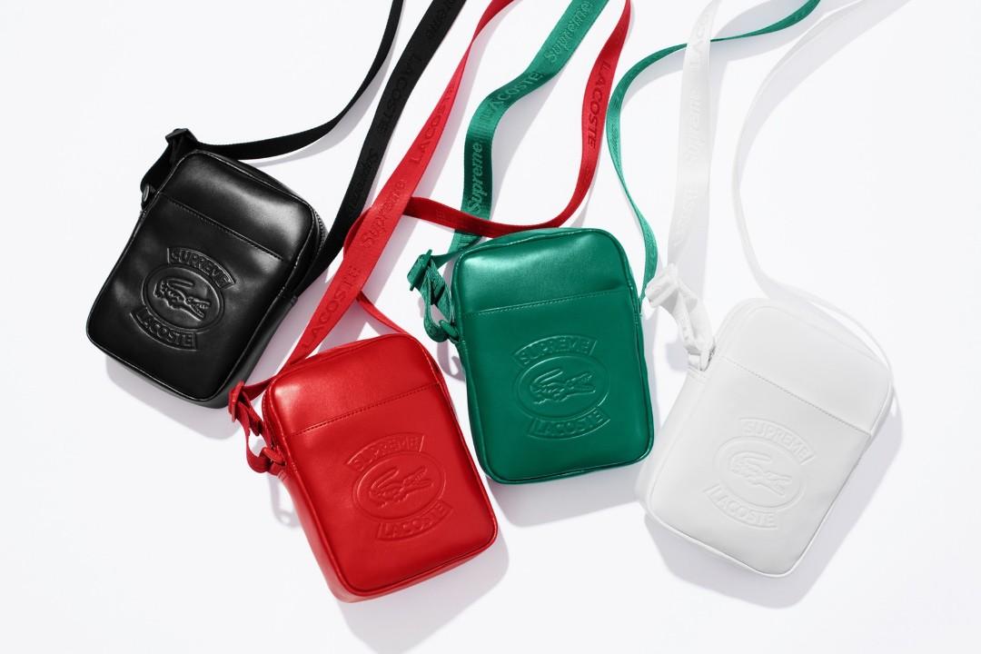 9a9435232239 Supreme x Lacoste Shoulder Bag Red