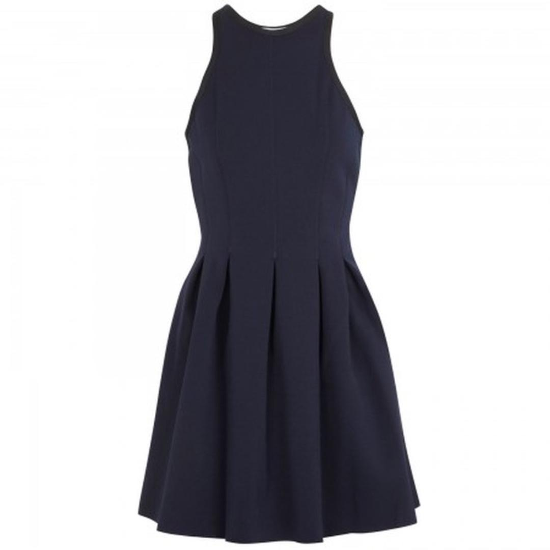 T by Alexander Wang Neoprene Inverted Pleat Dress PAID $457