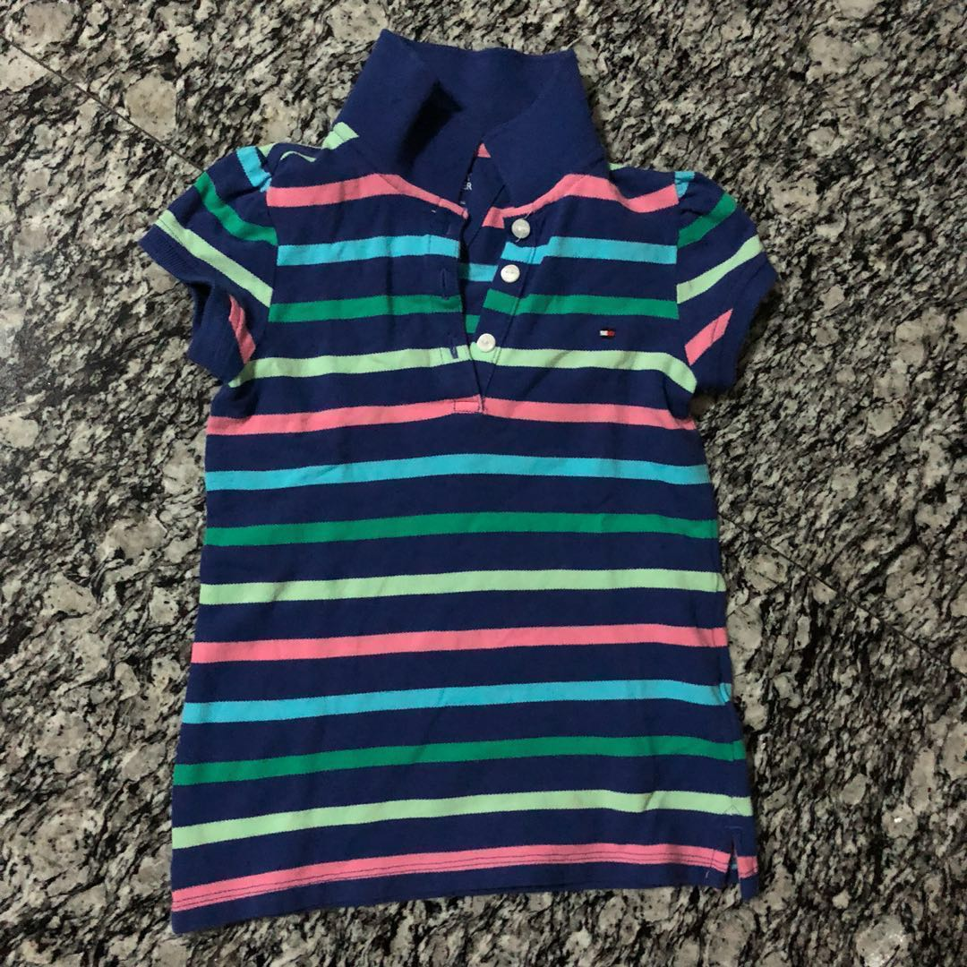 2dd0243b Tommy Hilfiger Polo Tee, Babies & Kids, Girls' Apparel, 1 to 3 Years ...