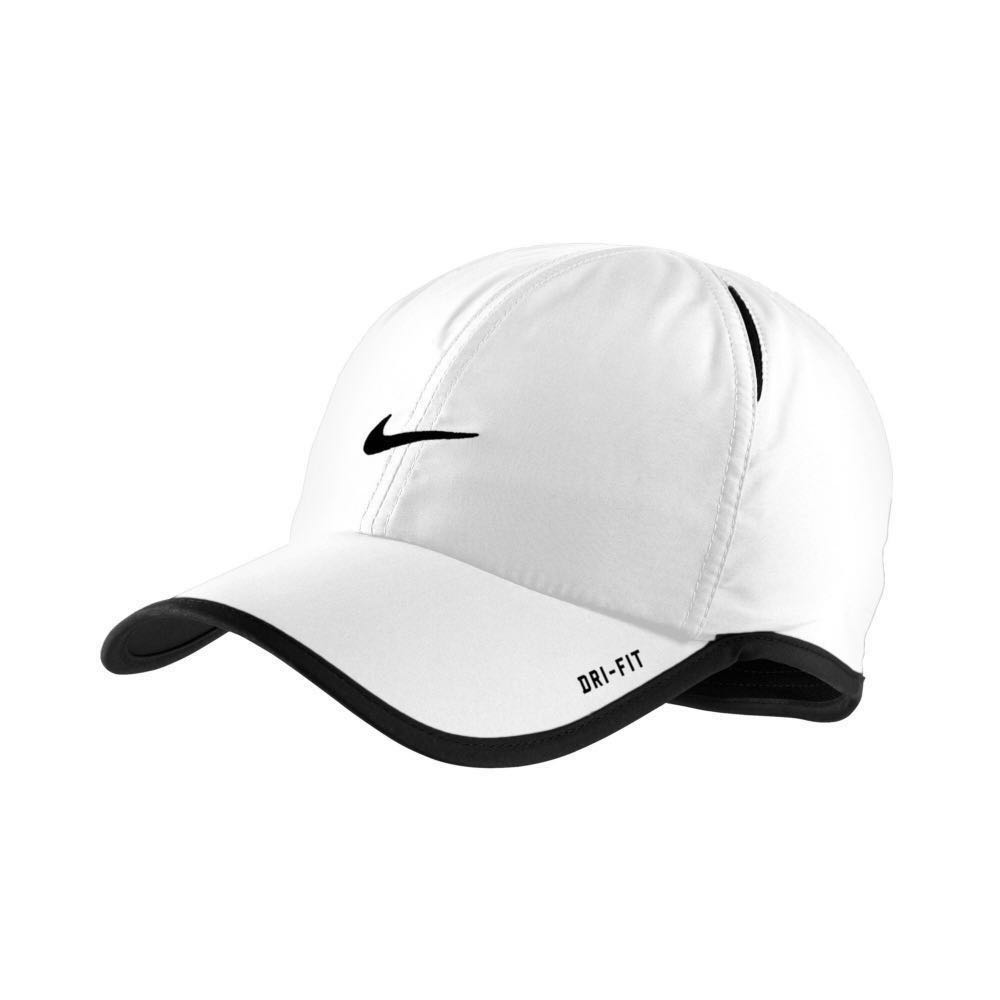 36de8f39631 Unisex  Nike Dri-Fit FeatherLight Running Tennis Golf Adjustable Hat ...