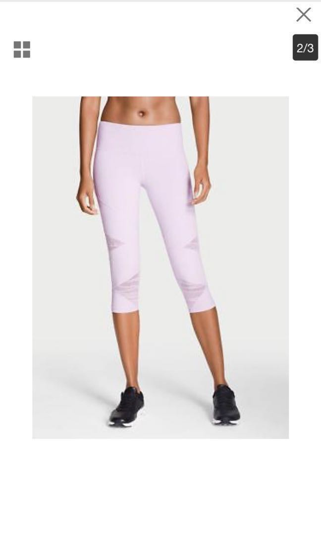 4eec3fcba4917c Victoria's Secret Knockout By Victoria Sport Cropped Leggings XS ...