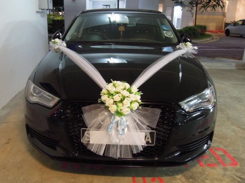 Wedding Car Decoration Bridal Car Decoration Everything Else On