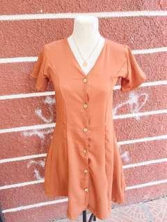 Buttondown dress
