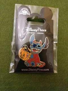 萬聖節史迪仔-disney pin迪士尼襟章