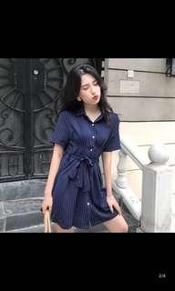 🚚 BN Stripe One Piece Dress