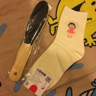 韓國襪 磨死皮 磨腳皮