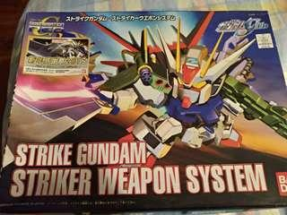 高達模型 BB戰士 strike Gundam striker weapon system