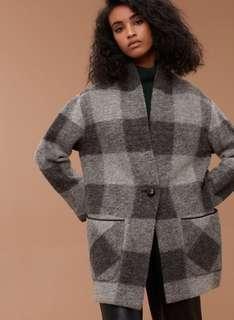 Aritzia Wilfred Free Neelam Coat Jacket