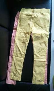 🚚 馬卡龍色系內搭長褲