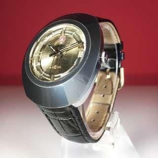 1960s Rado Diastar 1 Automatic Men's Watch with Tungsten Carbide Case