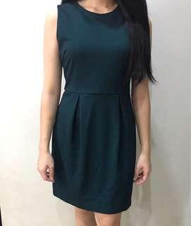 ZALORA Green Dress