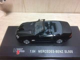 High Speed Mercedes Benz 500 SL  1:64