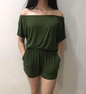 ZALORA Green Army Sabrina