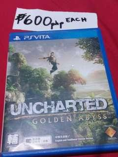 Psvita UNCHARTED (golden abyss)