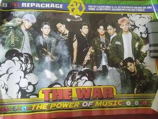 Wts EXO POWER OFFICIAL POSTER