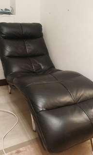 真皮 貴妃椅梳化