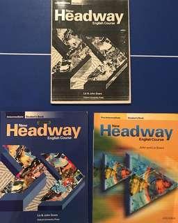 New Headway English Course - Liz & John Soars - 3 Books
