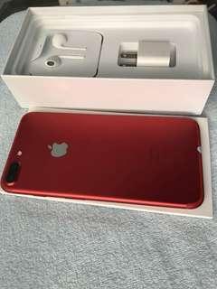 Iphone 7 plus 128gb Red FU