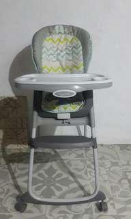 Preloved high chair ingenuity kursi makan bayi MPASI