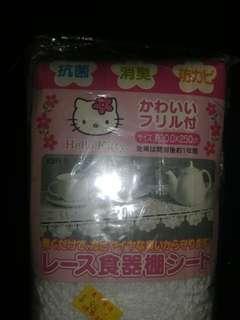 Sanrio Hello Kitty 2002限定膠壓花枱墊