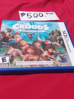 NINTENDO 3DS THE CROODS (prehistoric party)