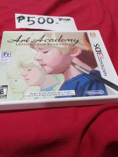 NINTENDO 3DS ART ACADEMY (lessons for everyone)