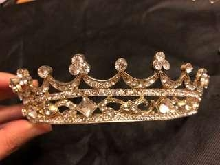 皇冠頭飾 bling bling crown