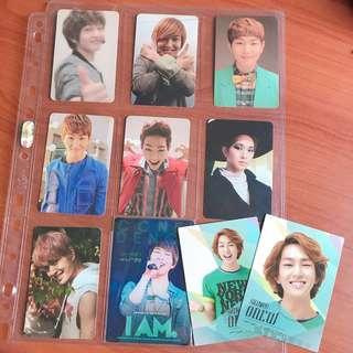SHINee ONEW photocard pc collection