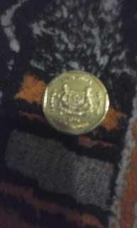 Duit singapura 1$ thn 2006