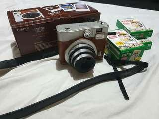 Instax Mini 90 Neo Classic (Brown) with freebies!