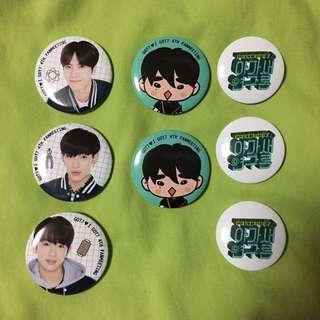 [WTT/LF] GOT7 4th Fanmeeting Badge