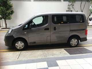 COMMERCIAL VAN NISSAN NV200 FOR RENTAL AT YOUR SERVICE. **NEW VAN