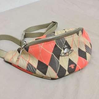 Vivienne Westwood 很新的古董vintage腰包胸包