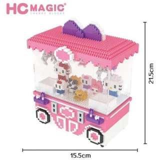 PO: Nanoblock LEGO Inspired Puzzles Vending Machine Arcade Machine (Gift Ideas)