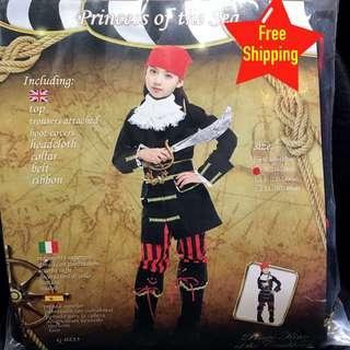Kids Pirate Girl Costume