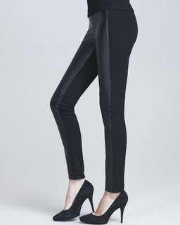 NWOT Paige Paloma Leather Leggings Size S