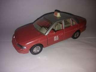 HONG KONG TAXI TOY CAR SEPHIA KIA SCALE 1/33