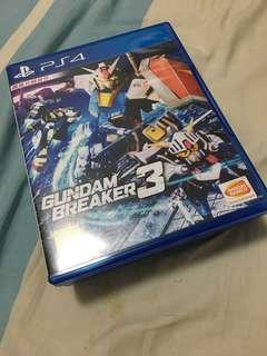 PS4 Gundam Breaker3