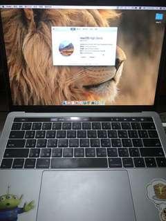 """MAC BOOK PRO 13.3"""" 超級新"""