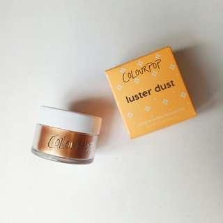 READY STOCK COLOURPOP LUSTER DUST HIGHLIGHTER