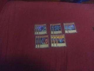 Yugioh Phantom Knight set with extra deck!