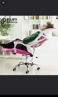 Gaming Chair (pink&black combination)