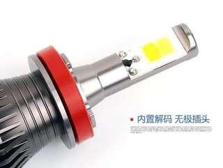 HB4 9006 LED PINK plug n play