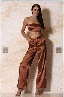 Meshki Burnt Orange Pants size xs