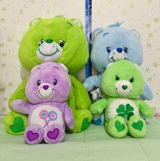 PRELOVED CARE BEARS SET