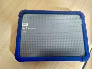 hardisk external WD my pasport ultra 500gb original nego