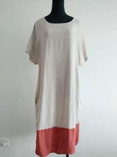 Elk colour block dress size M 12-14