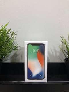 Iphone X 256GB Silver Second Garansi Aktif Super Mulus